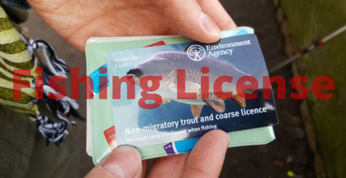 a fishing license
